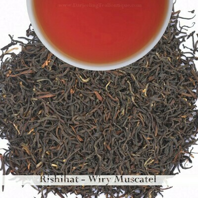 WHOLESALE PACK | RISHIHAT WIRY MUSCATEL - Darjeeling 2nd Flush 2020 (750gm)