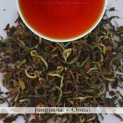 FRAGRANT JUNGPANA CLONAL   - Darjeeling Autumn Flush Tea 2020  (100gm / 3.5oz)