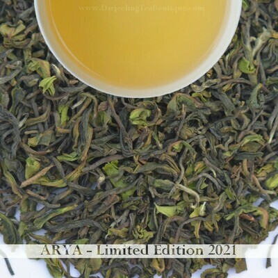 ARYA LIMITED EDITION - Darjeeling 1st flush 2021  - 50gm (1.76 oz)