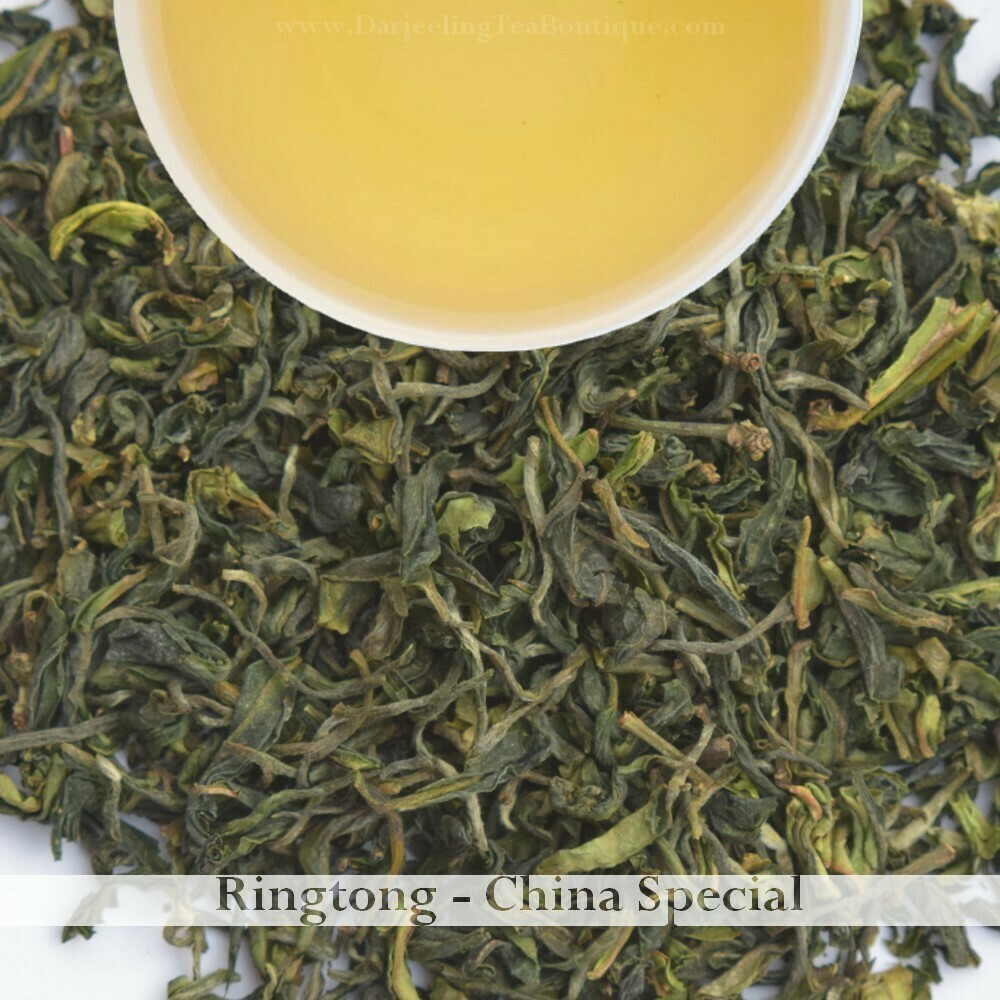Sample | RINGTONG CHINA SPECIAL - Darjeeling 1st flush 2021  - 10gm (0.35oz)