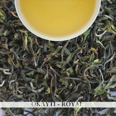 OKAYTI ROYAL - Darjeeling 1st flush 2021  - 100gm (3.52 oz)