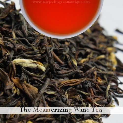 The Mesmerizing Wine Tea, 100gm (3.52oz) Pack