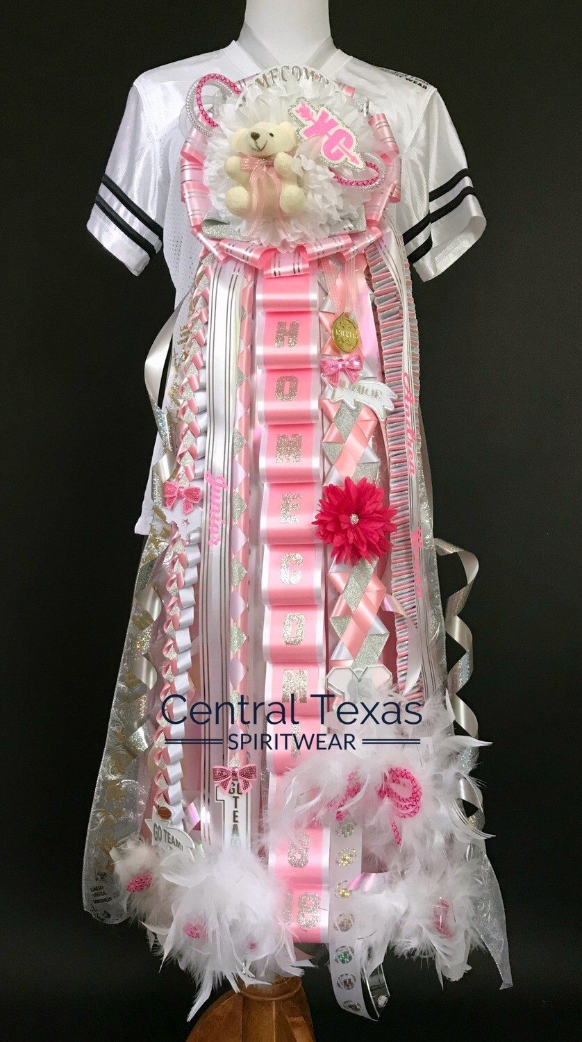 Classic Homecoming Mum, Single Double or Triple