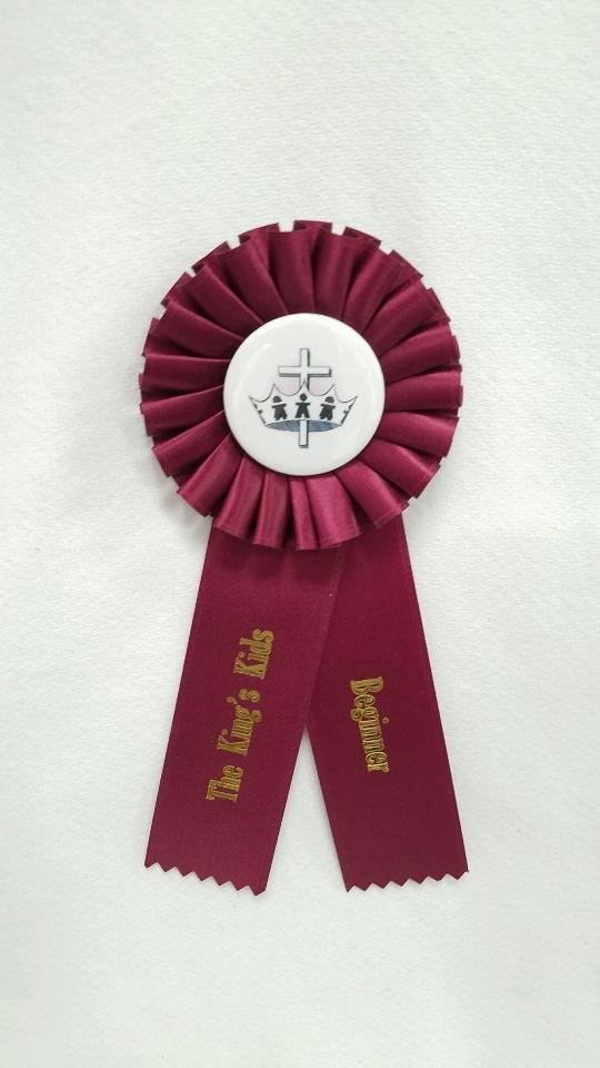 King's Kids Award Ribbon - Level Beginner