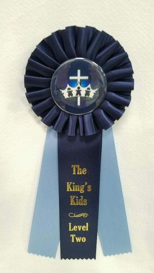 King's Kids Award Ribbon - Level Two