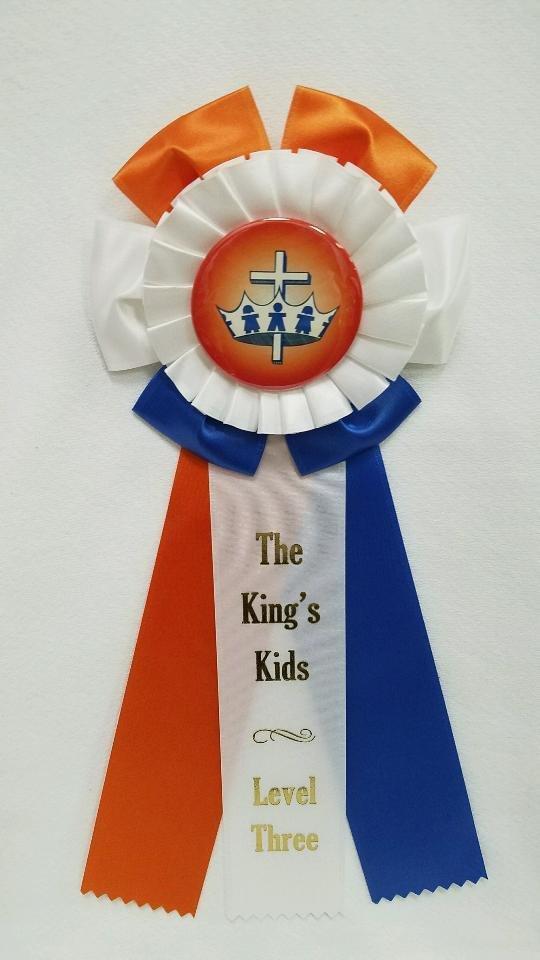 King's Kids Award Ribbon - Level Three