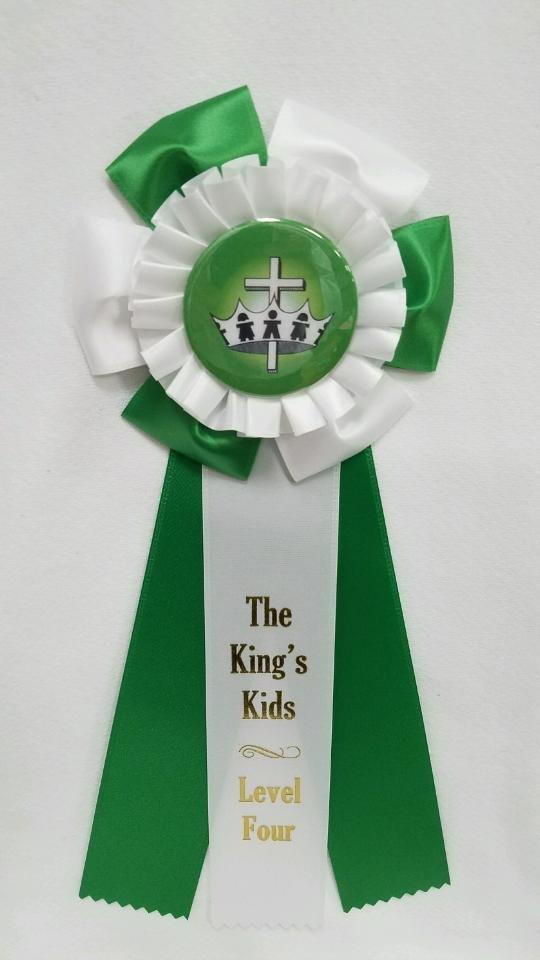 King's Kids Award Ribbon - Level Four
