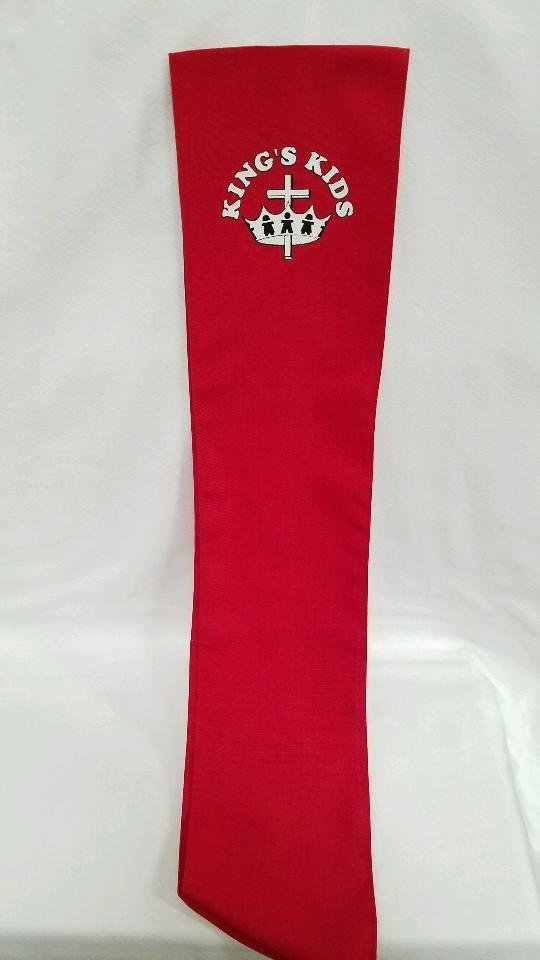 Sash (To be worn over the shoulder)