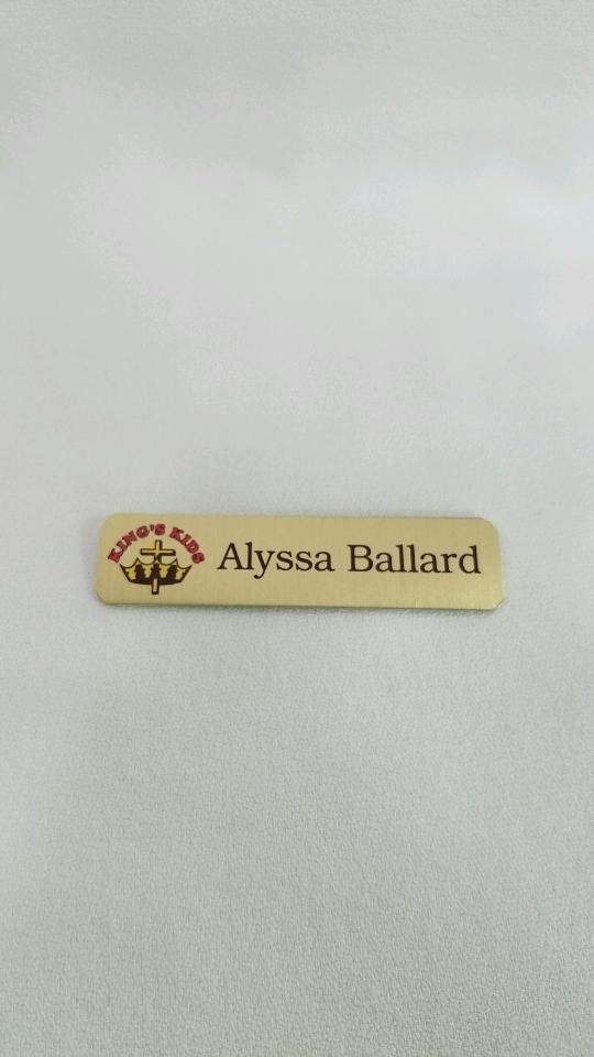 Name Tag - Style B (With Logo)