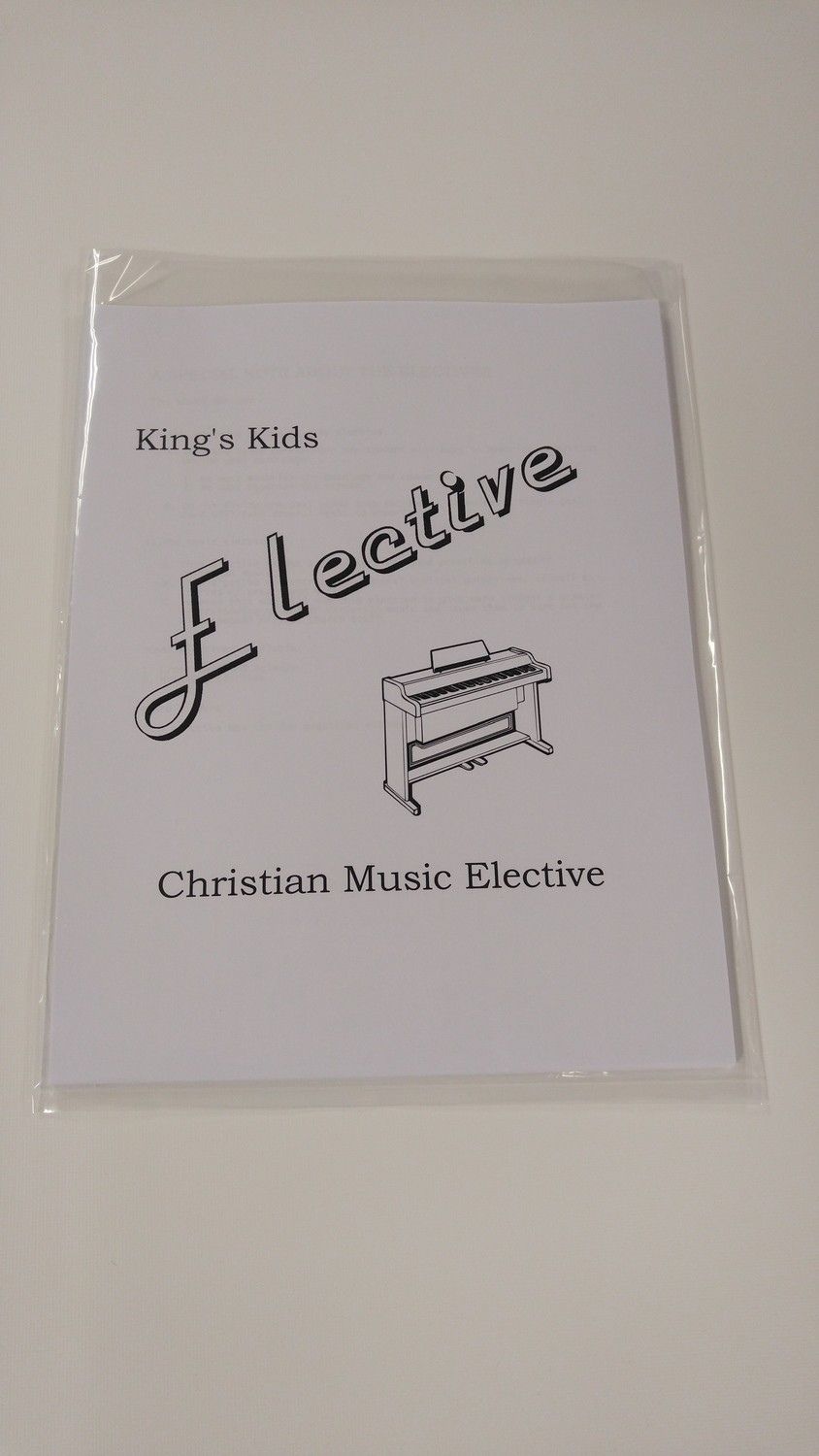 Student Elective - Christian Music