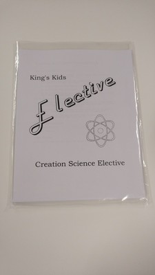 Student Elective - Creation Science
