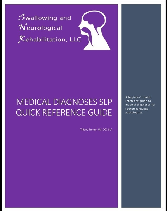 SLP Diagnoses Quick Reference Guide