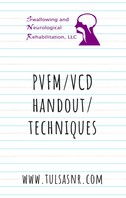 PVFM/ VCD Handout and Techniques