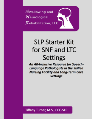 SLP Starter Kit for SNF and LTC Settings