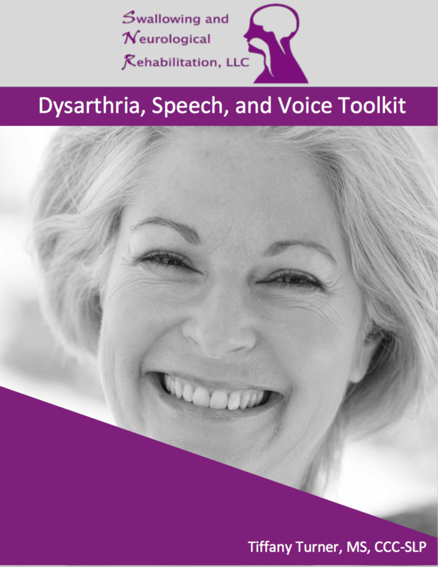 Dysarthria, Speech, and Voice Toolkit