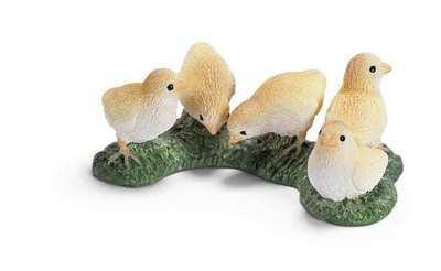 Five Chicks By Schleich