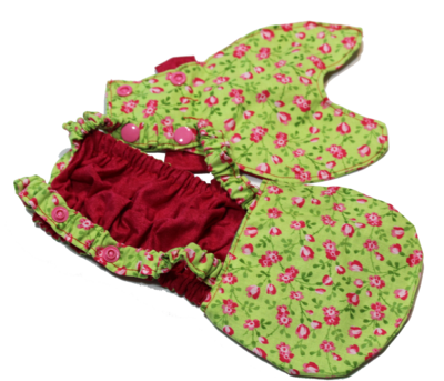 Dress & Diaper Set  Snap On