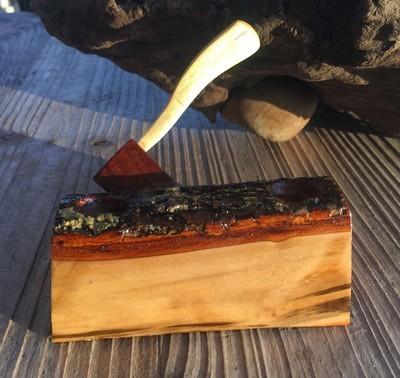 Handmade Log Pen Holder - by Charley's Whittle Works