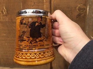 1950's Lord Nelson pottery in England Beer Mug #2