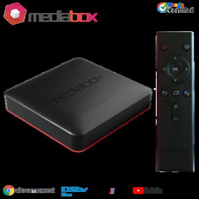 Mediabox Ranger Google Certified 4K Android TV OS Media Streaming TV Box