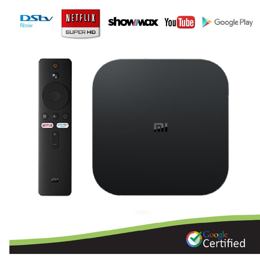 Xiaomi Mi Box S Netflix & Google Certified 4K Android TV OS Media Streaming TV Box