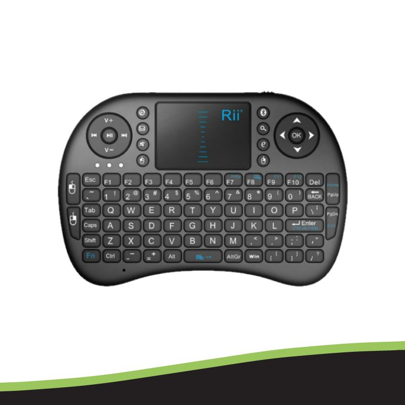 Rii i8 2.4Ghz Wireless Keyboard With Touchpad