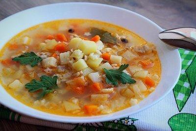 Минестроне овощной (4-6 порций)