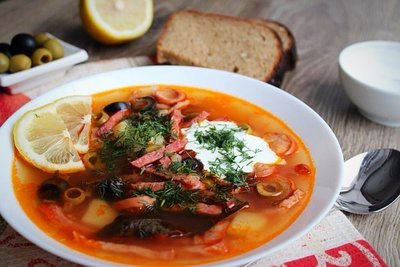 Солянка мясная сборная (3-3,5 литра супа)