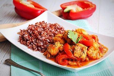Храйме с рубиновым рисом