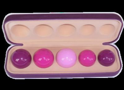 Тренажер Vagiton Balls -5 шаров Кегеля для занятий  Интимным фитнесом по системе Вагитон (имбилдинг, вумбилдинг)