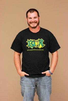 Black BLiR Logo Shirt