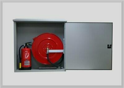 Feuerlöschposten AP Typ KSA ISO mit 20-50 Meter Schlauchlängen