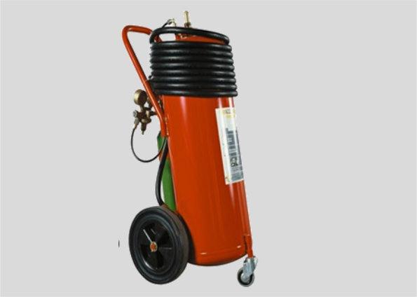Pulver Feuerlöscher PG50 (fahrbar)