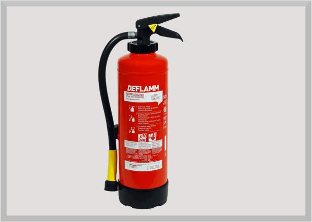 Fettbrand Feuerlöscher W6AKM