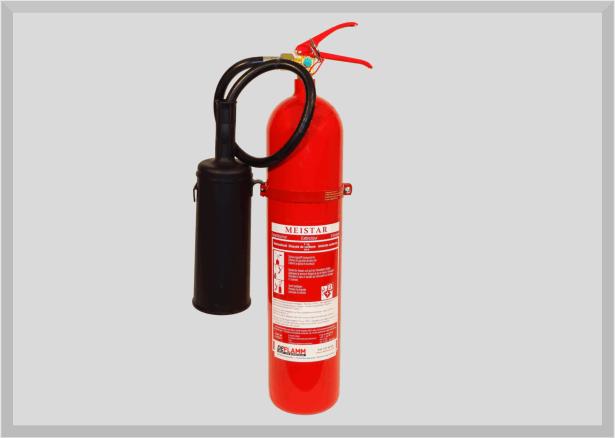 Kohlendioxid Feuerlöscher KS5 Anti-Magnetic