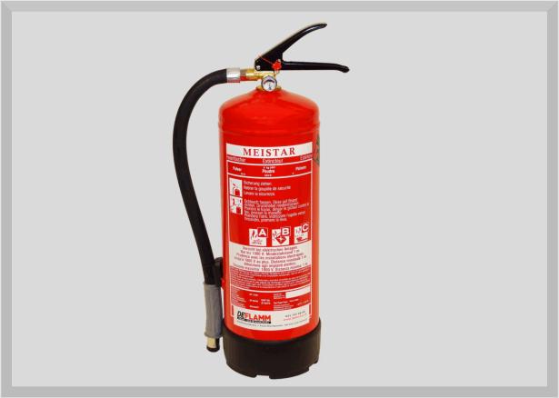 Pulver Feuerlöscher PG6PMD