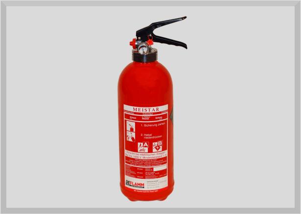 Sprühschaum Feuerlöscher S2DF-1 (frostgeschützt)
