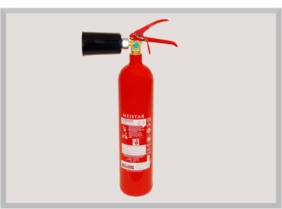Kohlendioxid Feuerlöscher KS2