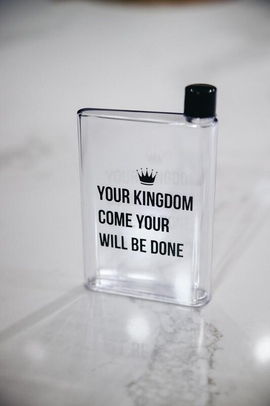 Kingdom Waterbottle (A5 memo bottle)