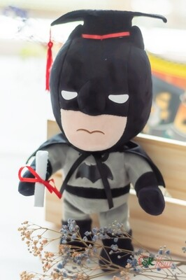 GRADUATION BATMAN PLUSH TOY