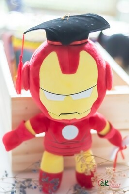 GRADUATION IRONMAN PLUSH TOY