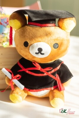 GRADUATION RILAKKUMA PLUSH TOY