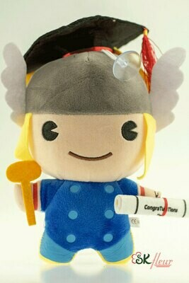 GRADUATION THOR PLUSH TOY