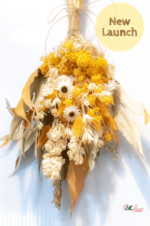 DRIED FLOWERS  HAND BOUQUET - AUTUMN'20