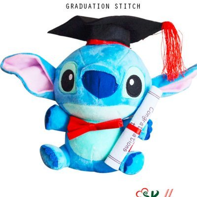 GRADUATION STITCH PLUSH TOY