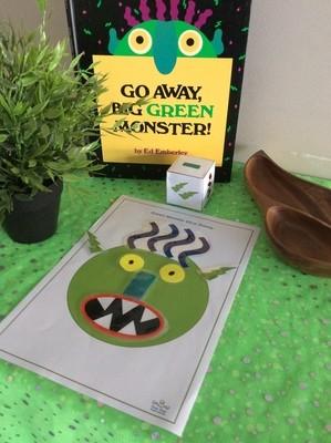 Stories- Go Away Big Green Monster
