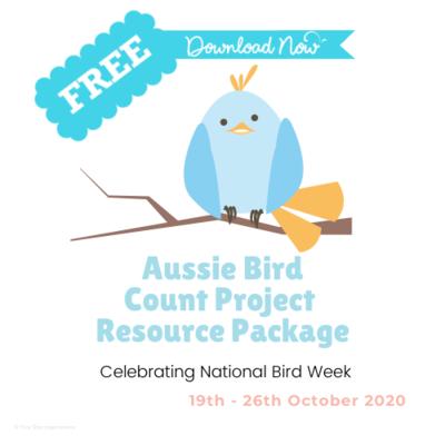 Free -Aussie Bird Count Resource Package
