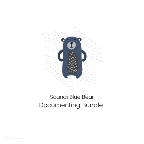 DOCUMENTING - Documenting Template Bundle - Scandi Blue Bear
