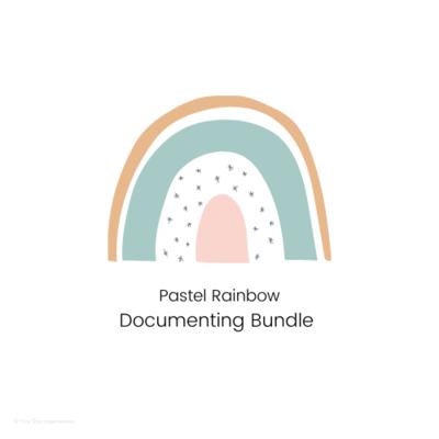 DOCUMENTING - Documenting Template Bundle - Pastel Rainbow