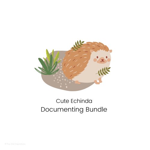 DOCUMENTING - Documenting Template Bundle - Cute Echidna